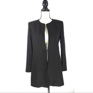 MAX MARA Brown Virgin Wool Cardigan Jacket Blazer